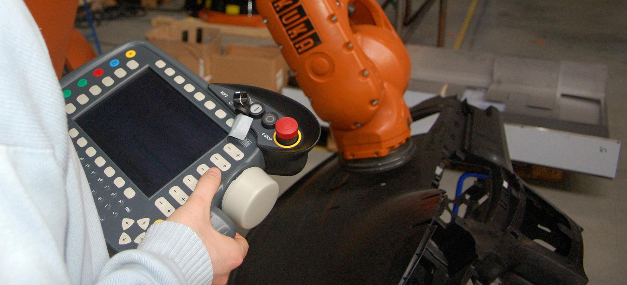 Robotic industrialization - GEBE2
