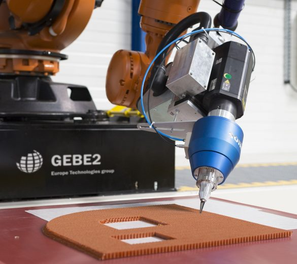 Découpe robot composite ultrasons - GEBE2