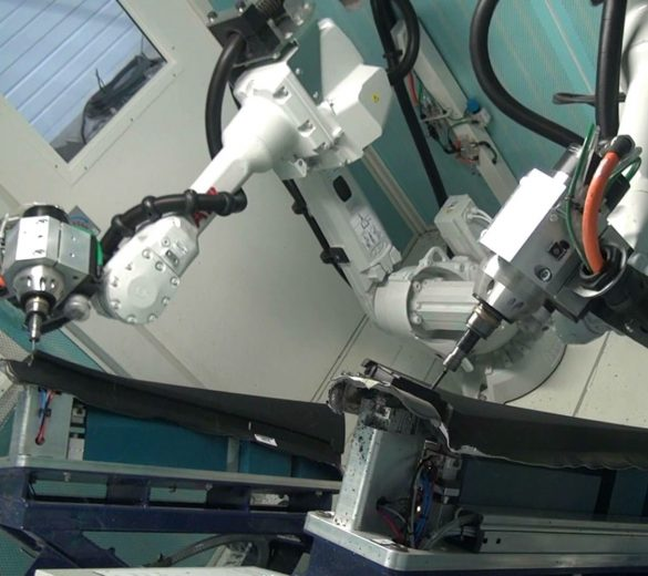 High speed robotic cutting and machining - GEBE2