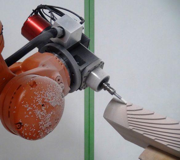 Machining robot - GEBE2