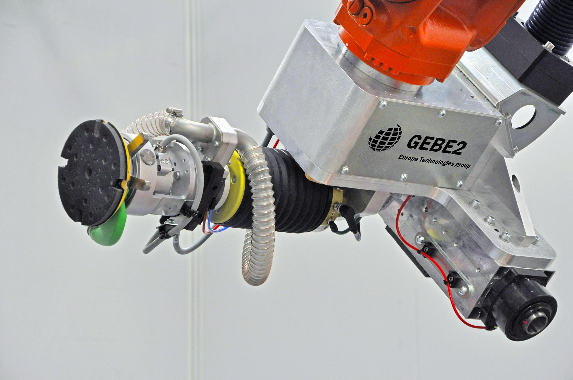 Effecteur robot ponçage GEBE2