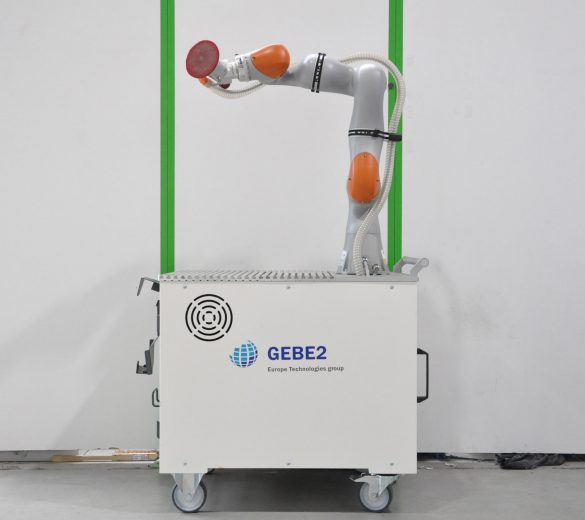 robotic test platform - collaborative robot - GEBE2