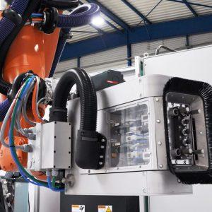 Robot perçage acoustique composite - GEBE2