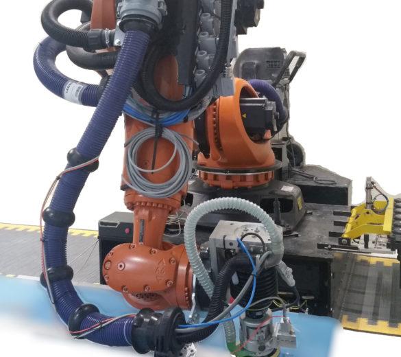 Robot de ponçage auto adaptatif - GEBE2