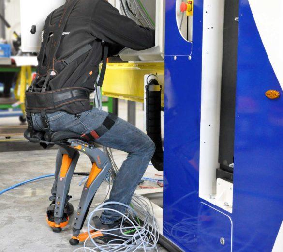 Exoskeleton Chairless Chair - GOBIO