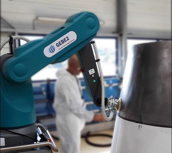 Collaborative robot sander - GEBE2 - ISYBOT