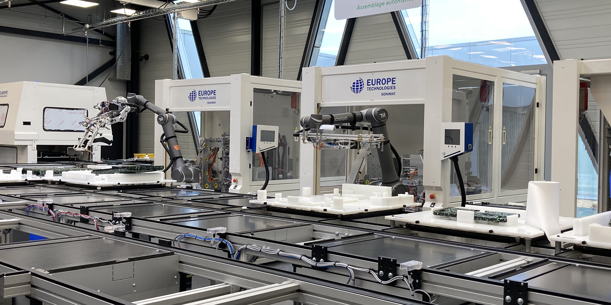 Automated production line - production line integration - GEBE2