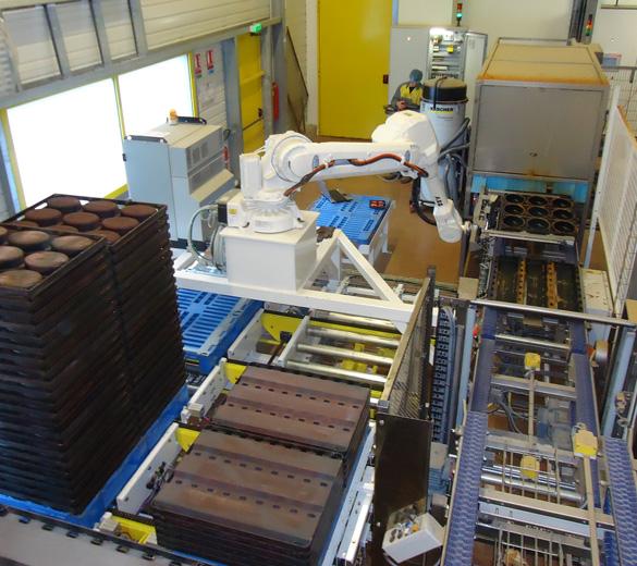 Robotic handling - plate handling - GEBE2