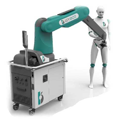 collaborative robot for sanding operation - GEBE2