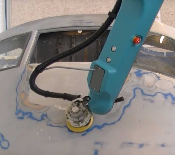 Collaborative Sanding Robot--GEBE2