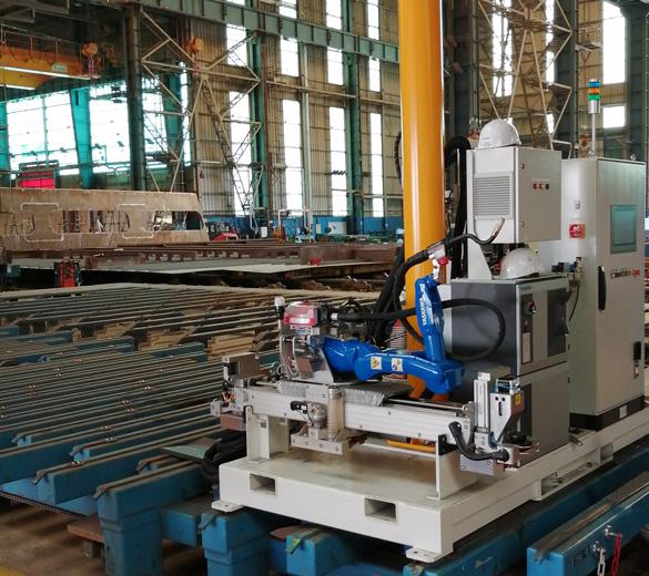 Robotic welding - GEBE2