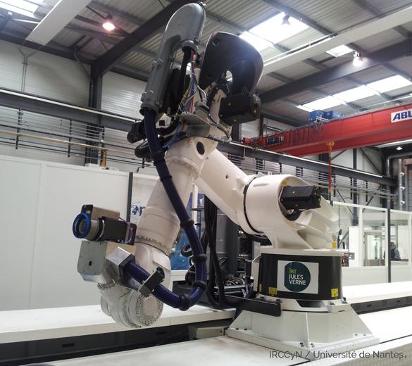 Détourage robotisé - GEBE2