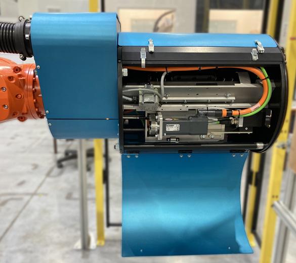 Effecteur de pose d'inserts robotisée - GEBE2
