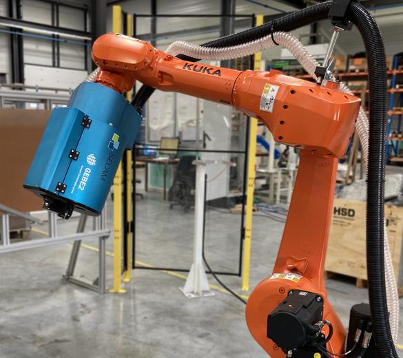 Pose d'inserts robotisée - GEBE2