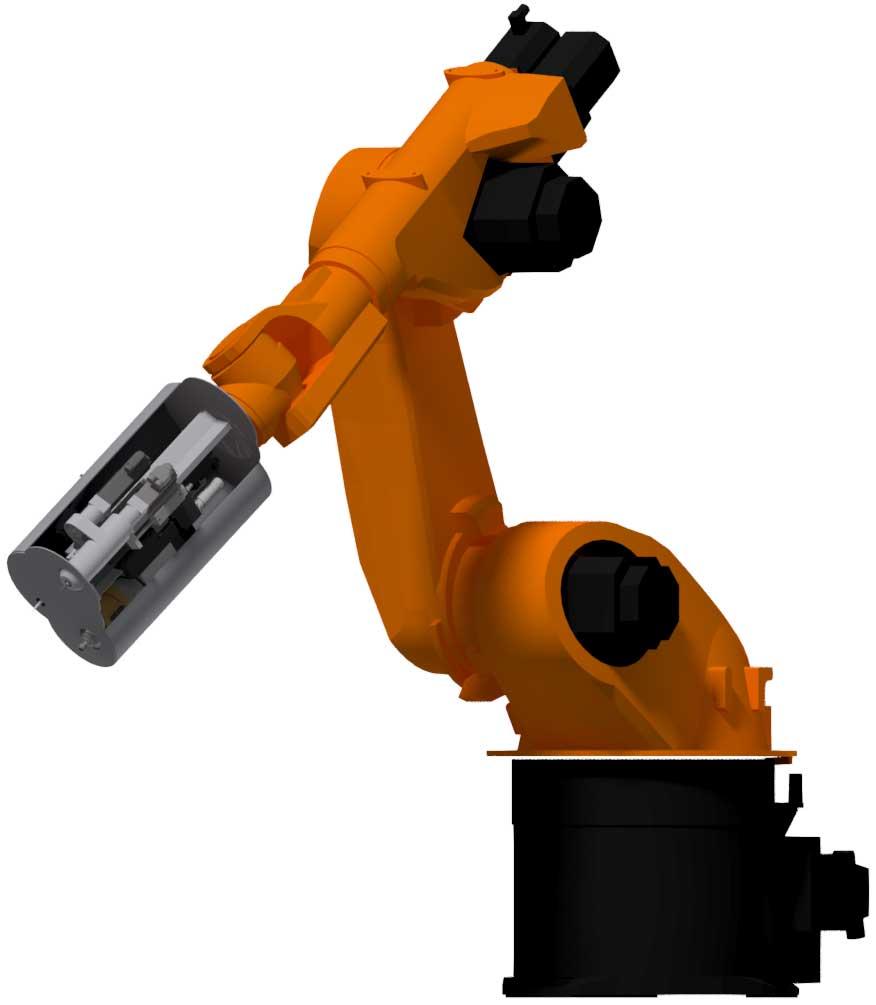 robot fixation panneau sandwich composite nida